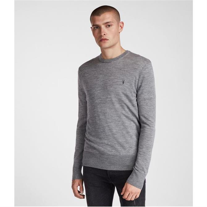 AllSaints Mens Mode Merino Crew Jumper