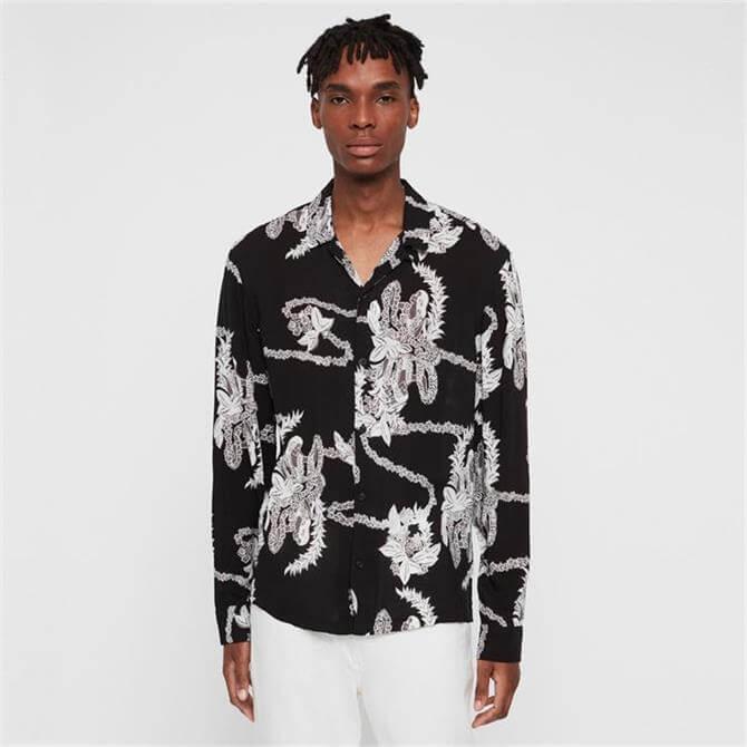 AllSaints Kumu Hawaiian Shirt