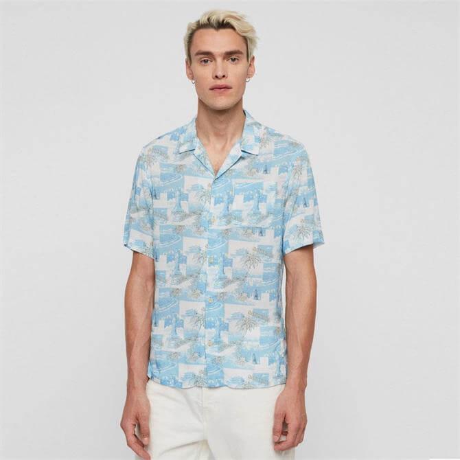 AllSaints Sayonara Short Sleeve Shirt