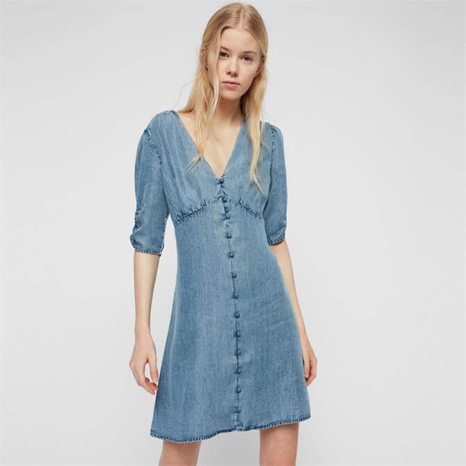 AllSaints Kota Tencel Dress