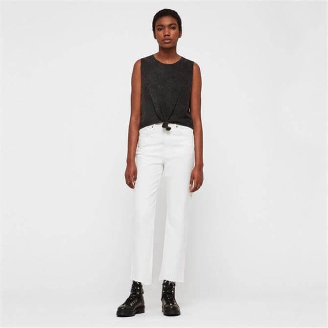 AllSaints Eden Hi Rise Straight Jeans