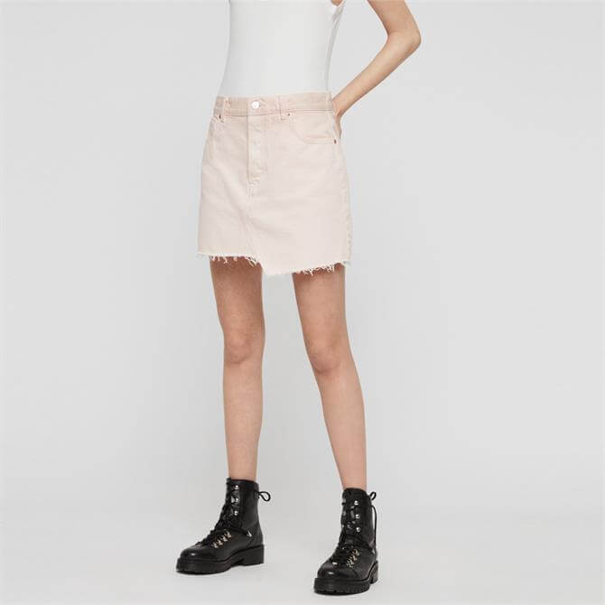 AllSaints Mai Denim Skirt