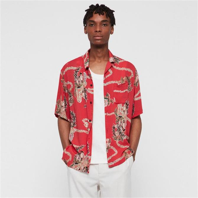 AllSaints Makalika Hawaiian Shirt