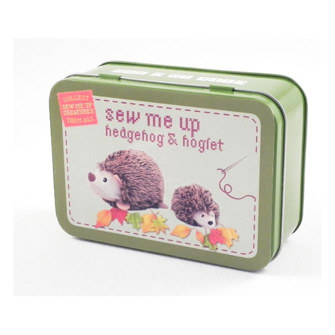Apples To Pears Sew Me Up Hedgehog Tin