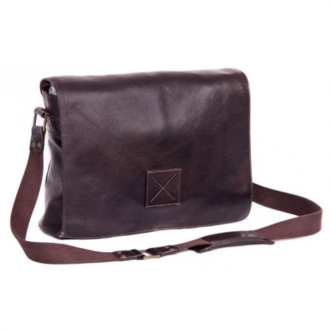 Ashwood Leather Pedro Messenger Bag