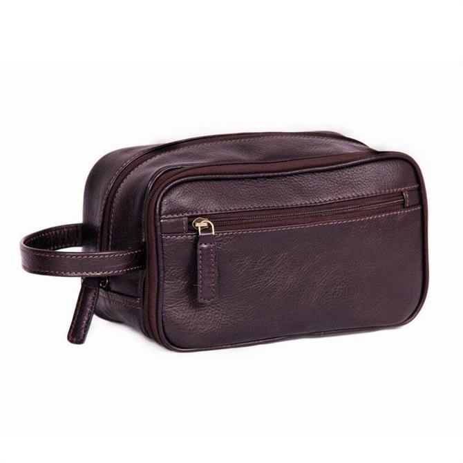 Ashwood Leather Luxury Wash Bag