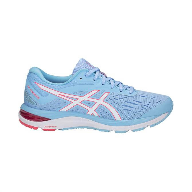 Asics Women's GEL-Cumulus 20 Running Shoe- Skylight/White