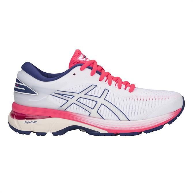Asics Women's Gel-Kayano 25 Running Shoe- White