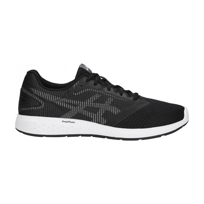 Asics Men's Patriot 10 Running Shoes-Black/White