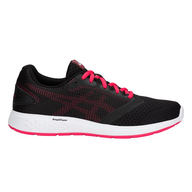 Asics Women's Patriot 10 Running Shoes- Black/Pixel Pink