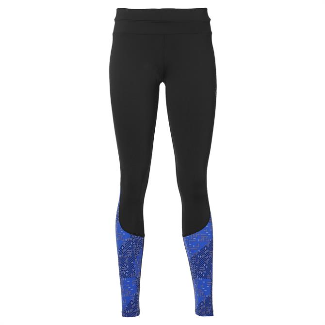 Asics Race Women's Training Tight- Black/Blue