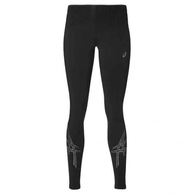 Asics Women's Stripe Black Running Tights