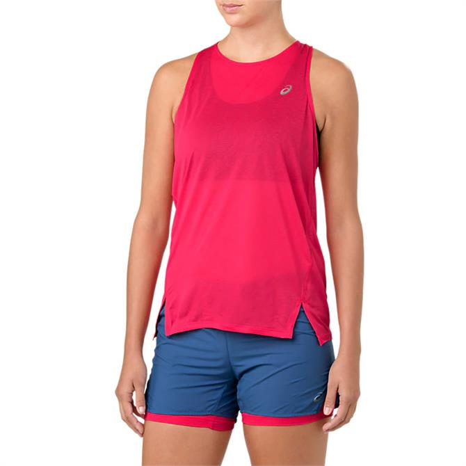 Asics Women's Cool Sleeveless Tank Top-Pixel Pink