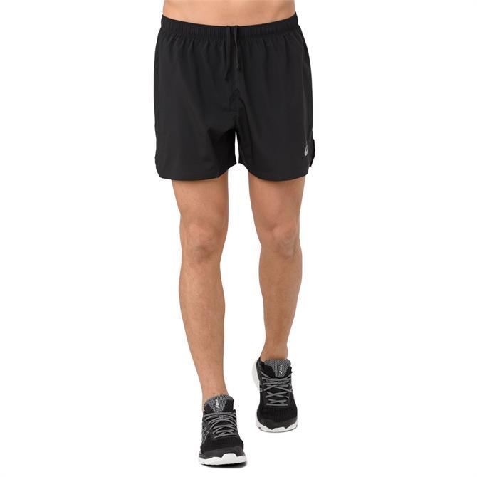 Asics Silver Men's 5inch Running Shorts- Performance Black