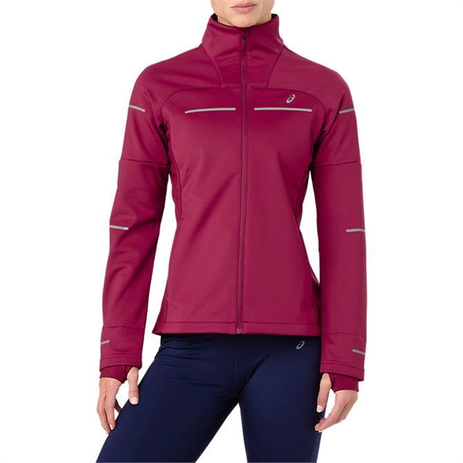 Asics Women's Lite Show Winter Running Jacket- Cordovan