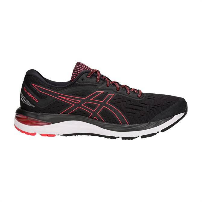 Asics Men's GEL-Cumulus 20 Running Shoe-Black/Red Alert