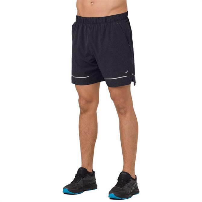 Asics Men's Lite-Show 7inch Running Short - Black