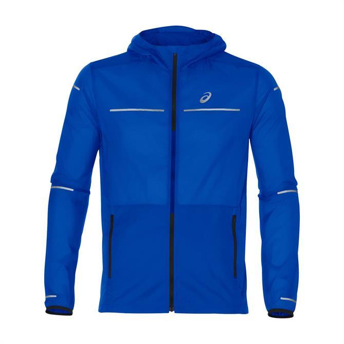 Asics Men's Lite-Show Running Jacket - Illusion Blue