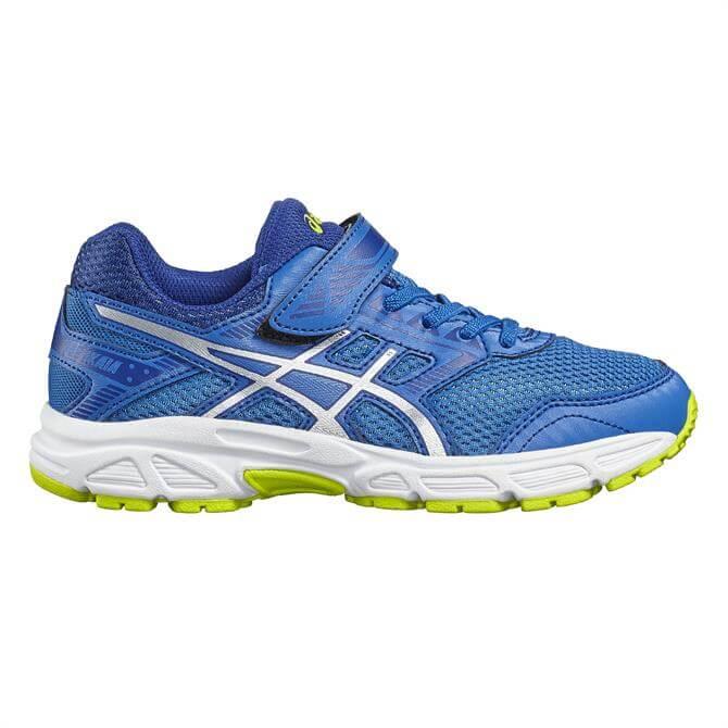 Asics Gel-Ikaia 6 PS Junior Running Shoes- Blue/Silver