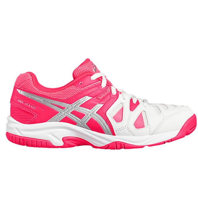 Asics Gel-Game 5- White/Pink