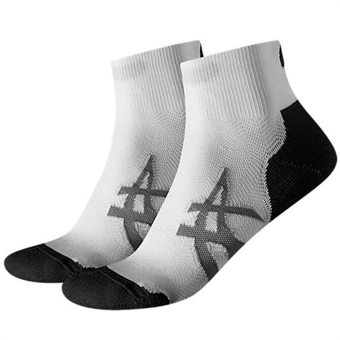 Asics Cushion Sock Two Pack- White