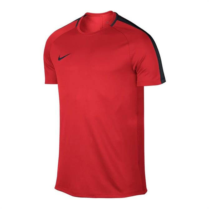 Nike Men's Dry Academy Short Sleeve Top- Light Crimson