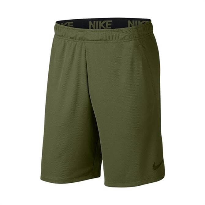 Nike Men's Dry Fitness Short 4.0- Olive Canvas