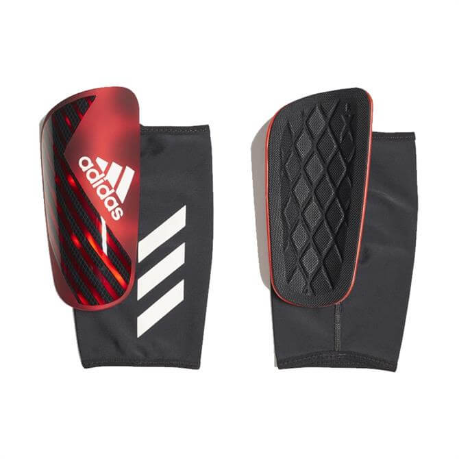 Adidas X Pro Shin Guards - Active Red