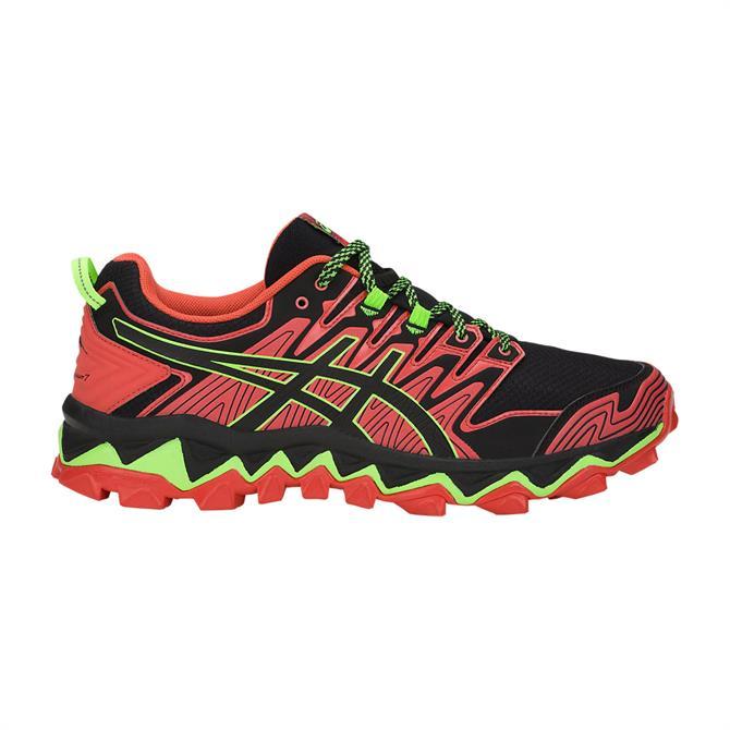 Asics Men's Fujitrabuco 7 Trail Running Shoe - Red Snapper