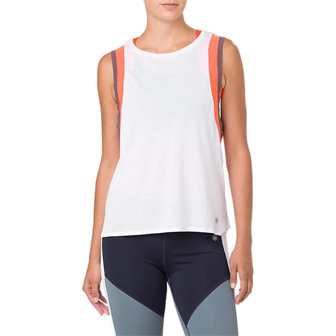 Asics Women's Gel-Cool 2 Sleeveless Training Tank - White