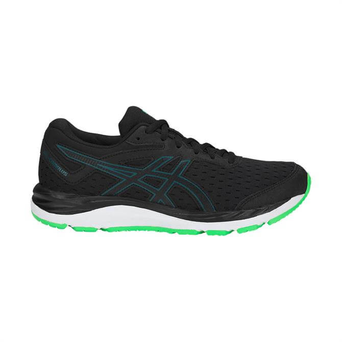 Asics Junior Gel-Cumulus 20 GS - Black/Beryl Green