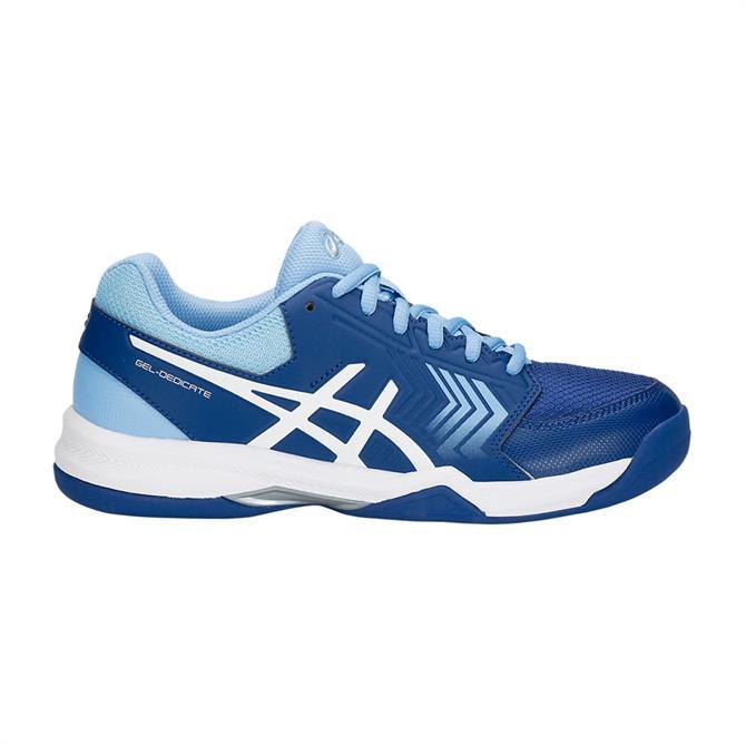 Asics Men's Gel-Dedicate 5 Indoor Tennis Shoes - Illusion Blue