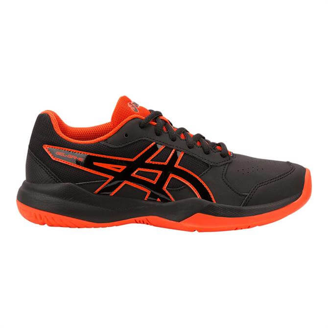 Asics Junior GEL-Game 7 GS Tennis Shoes - Black/Cherry Tomato