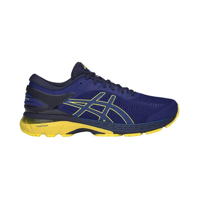 Asics Men's Gel-Kayano 25 Running Shoe - Asics Blue/Lemon Spark