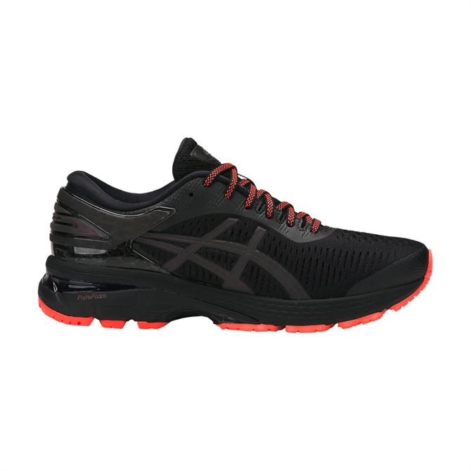 Asics Women's Gel-Kayano 25 Lite Show Running Shoe- Black
