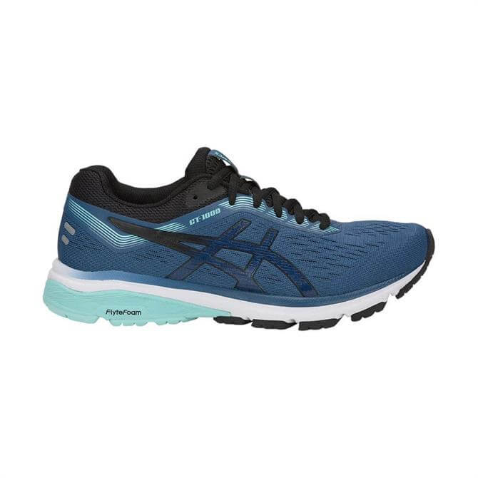 Asics Women's GT-1000 7 Running Shoes - Blue/Black