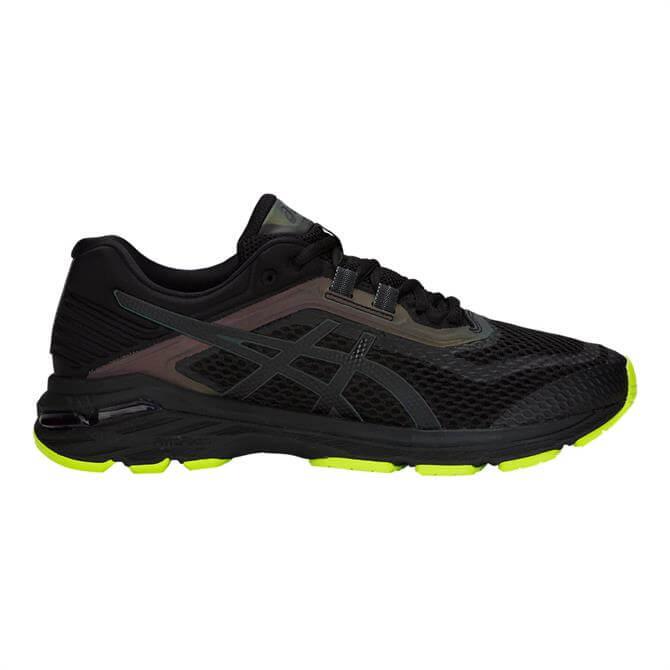 Asics Men's GT-2000 6 Running Shoes- Black