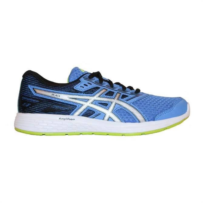 Asics Gel-Ikaia 8 GS Junior Running Shoes - Blue/Silver Coast