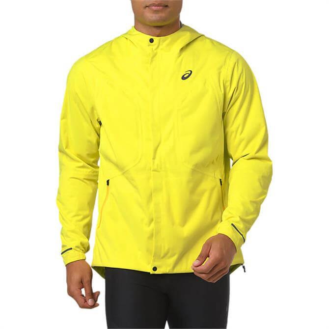 Asics Men's Accelerate Running Jacket - Lemon Spark
