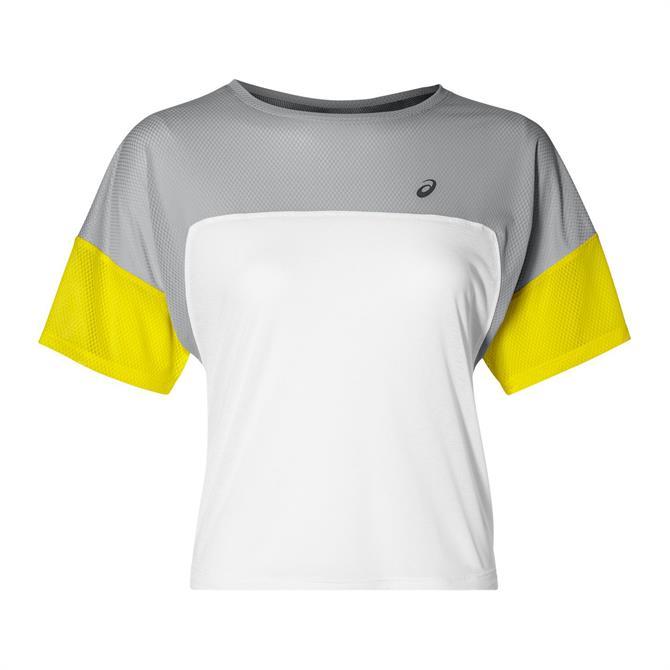 Asics Women's Style Block Colour Top - Mid Grey