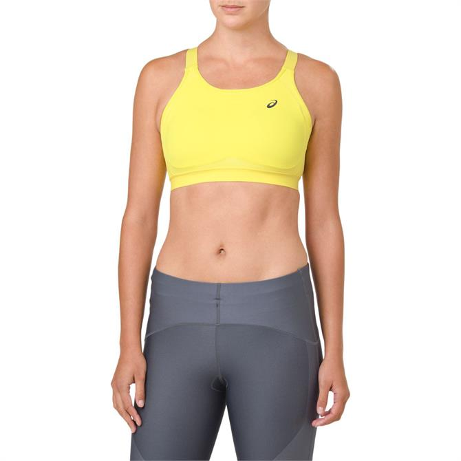 Asics Women's Zero Distraction 2.0 Running Sports Bra - Lemon Spark