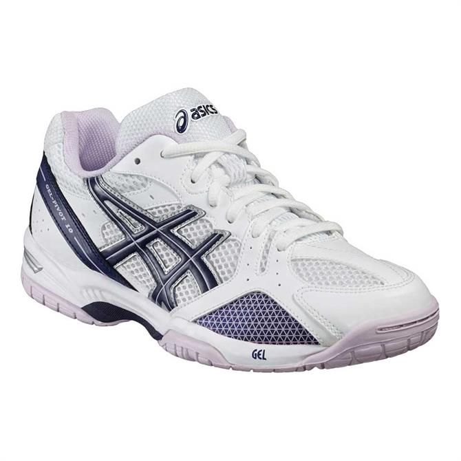 Asics Womens Gel Pivot 10 - White Blue Lilac