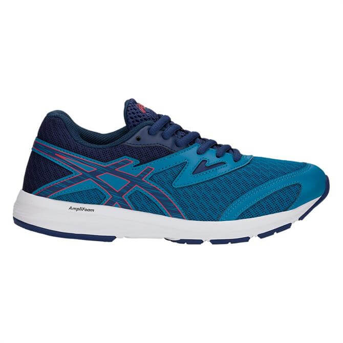 Asics Junior Amplica Fitness Shoe- Race Blue