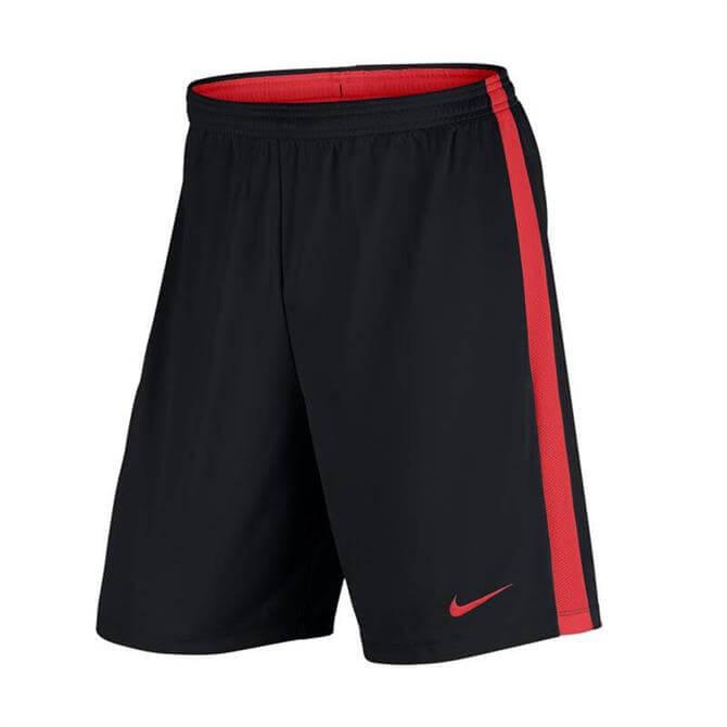 Nike Men's Dry Academy Football Short- Black/Crimson