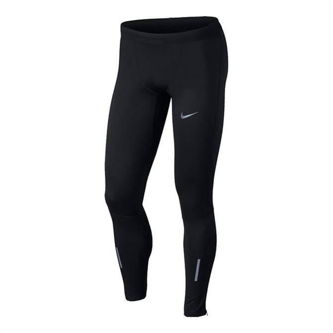 Nike Men's Shield Tech Fitness Tights- Black