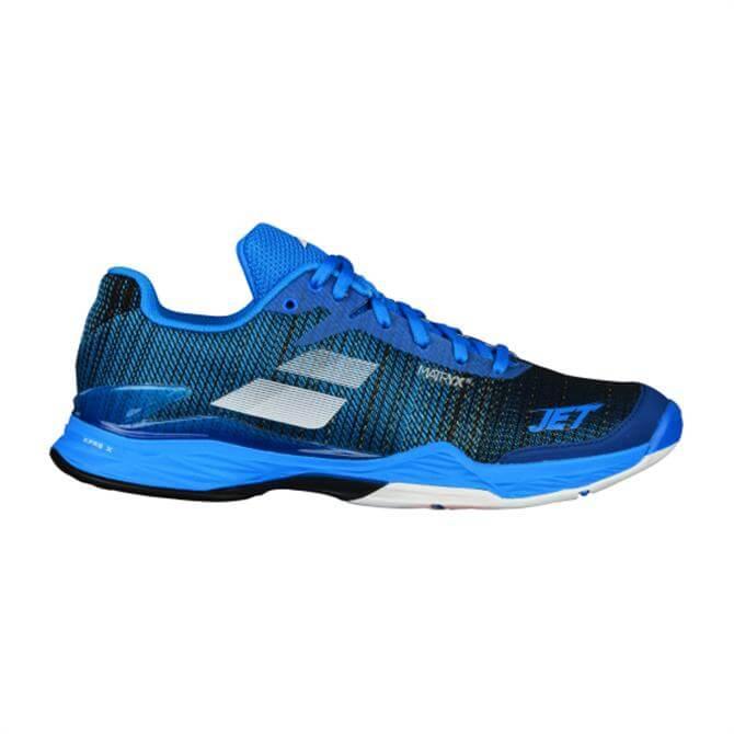 Babolat Men's Jet Mach II Tennis Shoe- Diva Blue