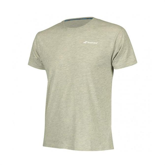 Babolat Men's Core Tennis Short Sleeve T-Shirt - High Rise Heather
