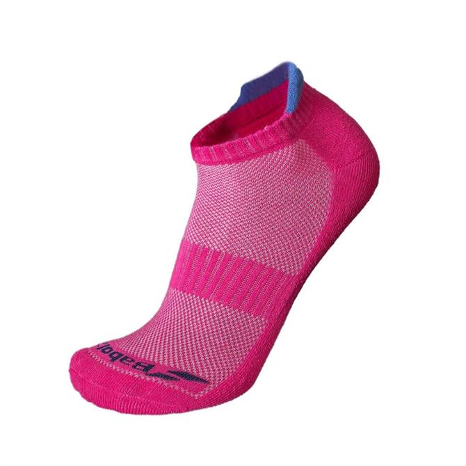 Babolat Women's 2 Pack Invisible Tennis Socks- Pink