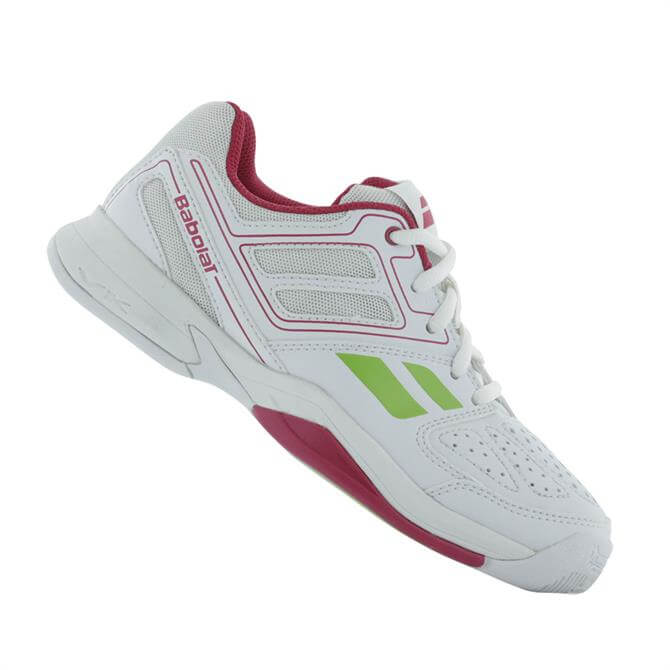 Babolat Kids Pulsion 4 - White Pink