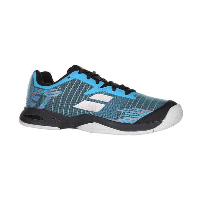 Babolat Junior Jet All Court Tennis Shoes - Dark Blue